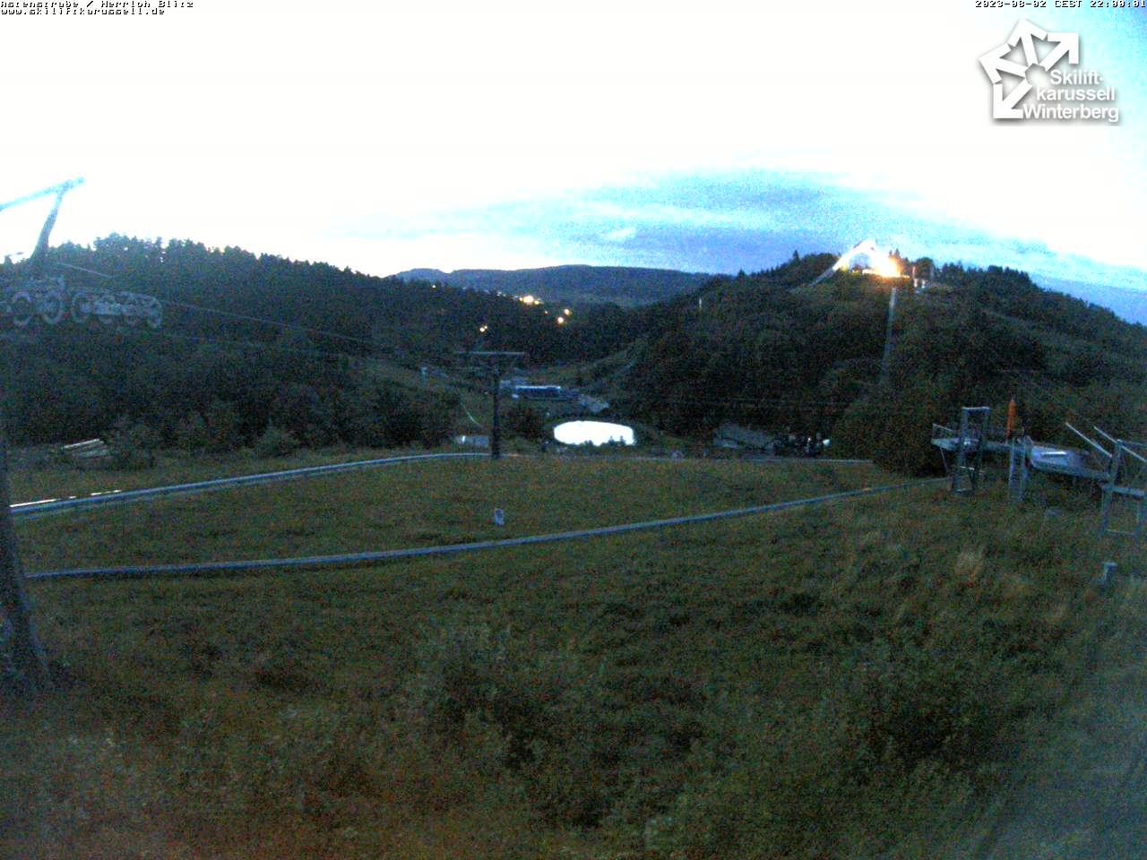 Webcam Astenstrasse / Herrloh Blitz - Skiliftkarussell Winterberg