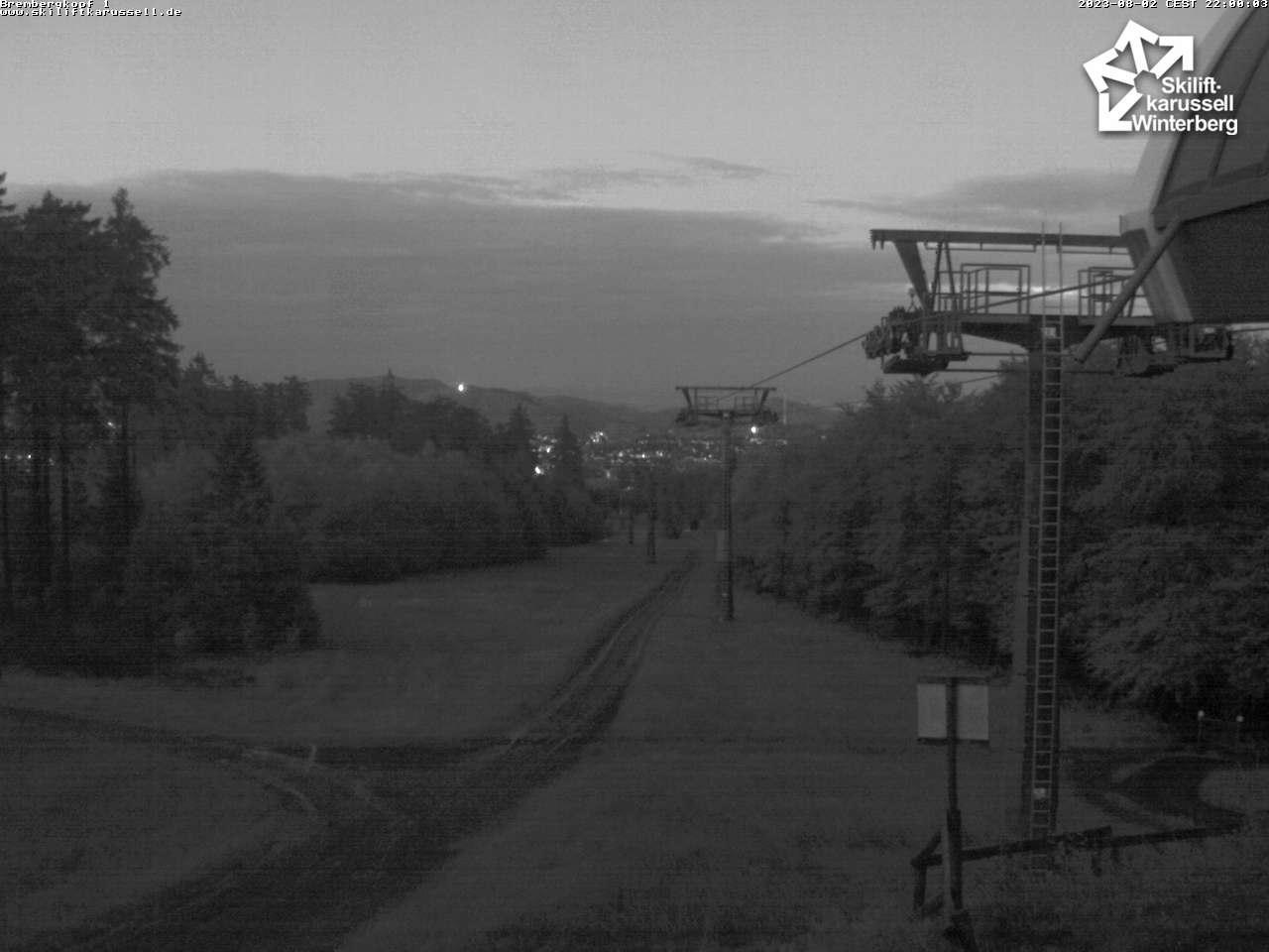 Webcam Brembergkopf I - Skiliftkarussell Winterberg