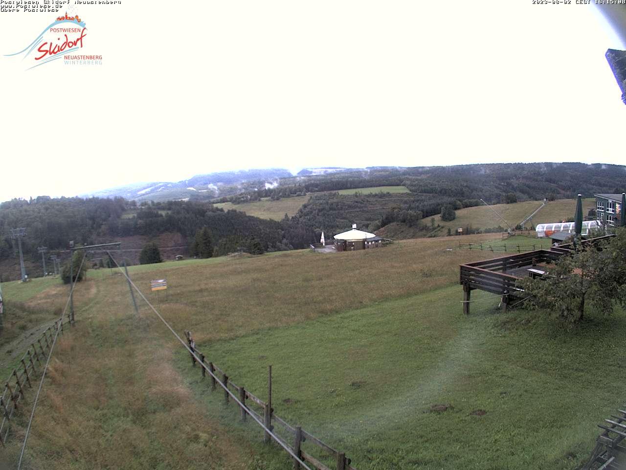 Webcam Skigebiet Neuastenberg Postwiese - Skiliftkarussell Winterberg