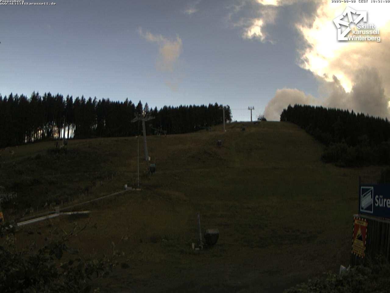 Webcam Poppenberg - Skiliftkarussell Winterberg