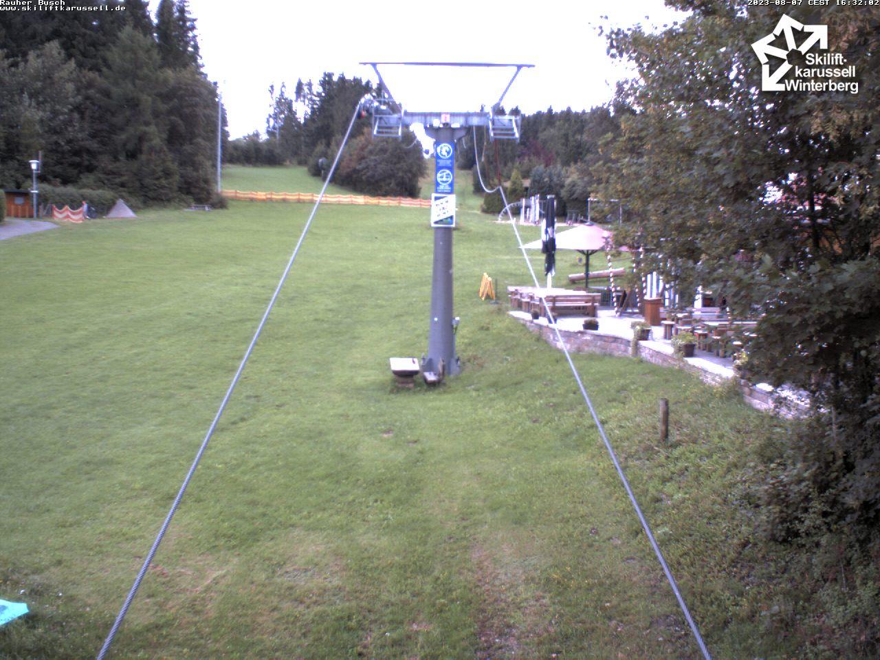 Webcam Rauher Busch - Skiliftkarussell Winterberg
