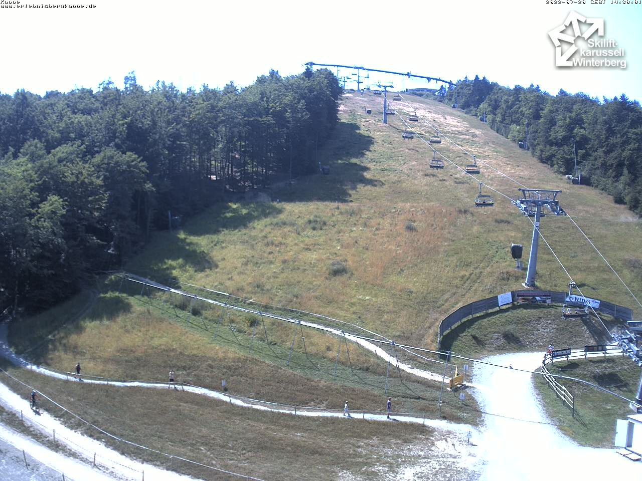 Webcam Kappe - Skiliftkarussell Winterberg